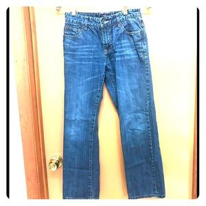 Lucky Brand Billy Straight blue jeans Size 14